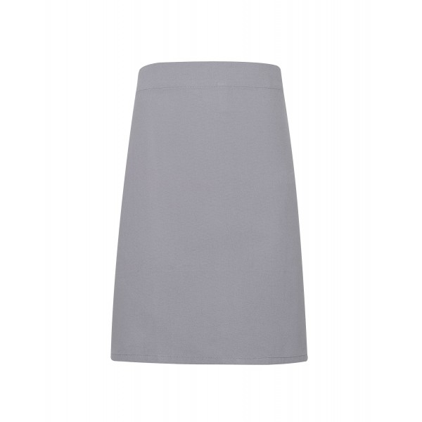 Midjeförkläde i kraftig Bomullscanvas - Silver