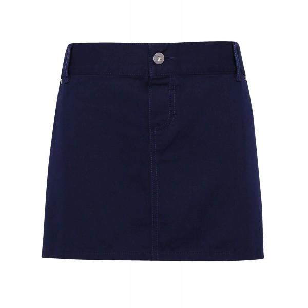 """Kort Midjeförkläde i """"Chino"""" Stil - Marinblå"""