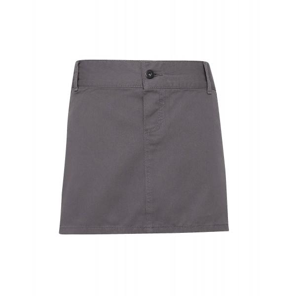 """Kort Midjeförkläde i """"Chino"""" Stil - Stål"""
