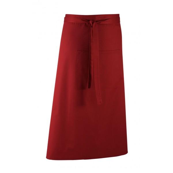 Barförkläde i många färger - Vinröd