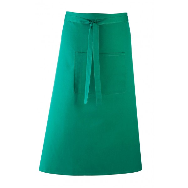 Barförkläde i många färger - Smaragdgrön