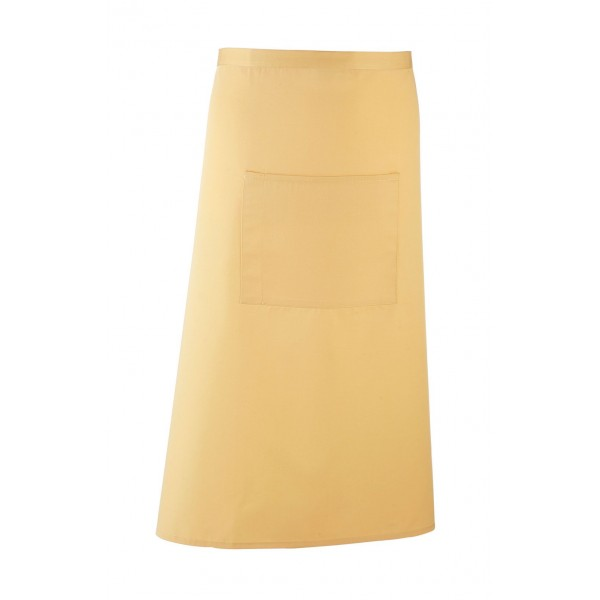 Barförkläde i många färger - Citrongul