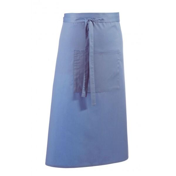 Barförkläde i många färger - Mellanblå