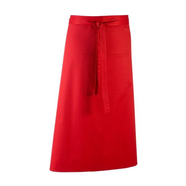 Barförkläde i många färger - Röd
