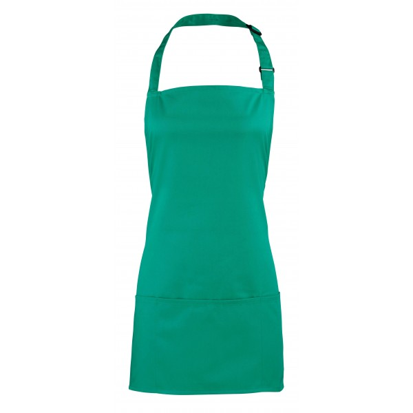 2-i-1 Förkläde - Smaragdgröm