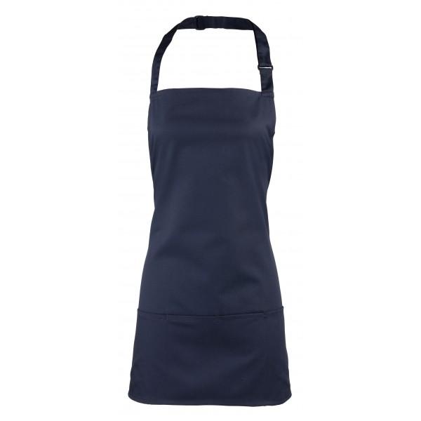2-i-1 Förkläde - Marinblå