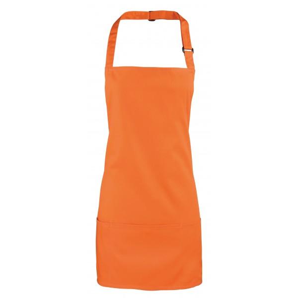 2-i-1 Förkläde - Apelsin