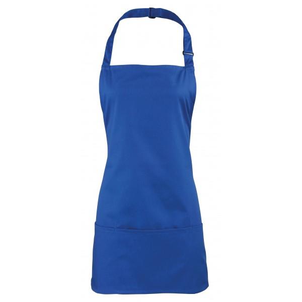 2-i-1 Förkläde - Kungsblå