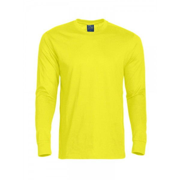 Långärmad Jobb T-shirt - Gul
