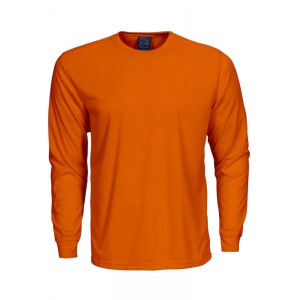 Långärmad Jobb T-shirt - Orange