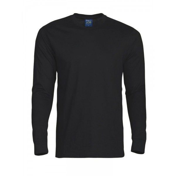 Långärmad Jobb T-shirt - Svart