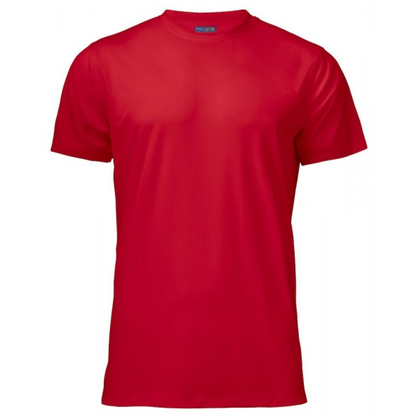 Funktions T-shirt - Röd