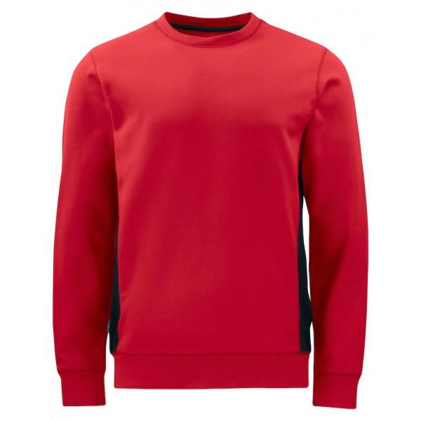 Arbetssweatshirt - Röd