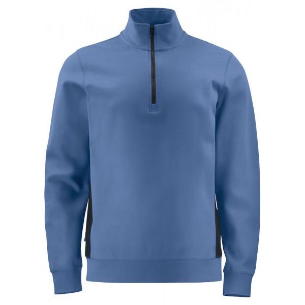 Arbets Sweastshirt ½ Dragkedja - Himmelsblå