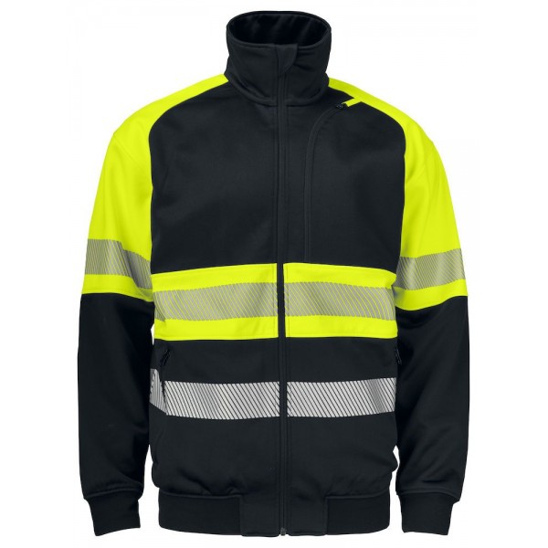Varselsweatshirt - Gul/Svart