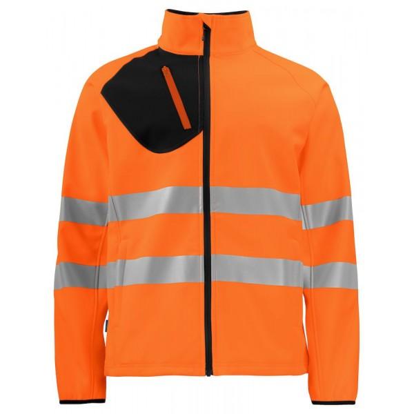 Softshelljacka - Orange/Svart