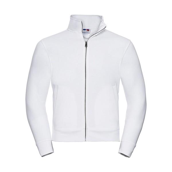 Sweatshirt Jacka - Vit