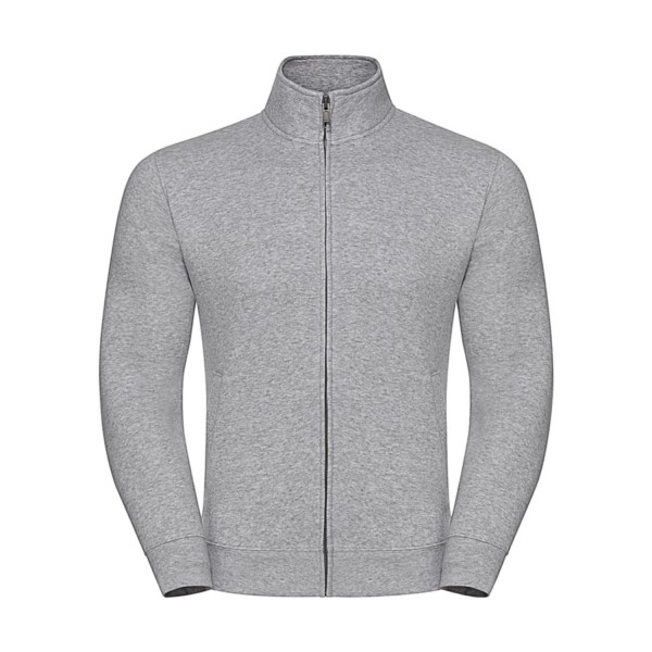 Sweatshirt Jacka - Ljus Grå