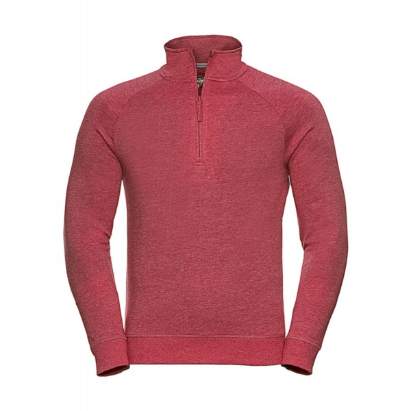 1/4 Zip Sweatshirt - Röd