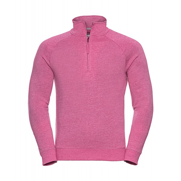1/4 Zip Sweatshirt - Rosa