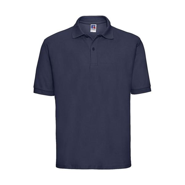 Enkel Pikétröja - Fransk Marinblå