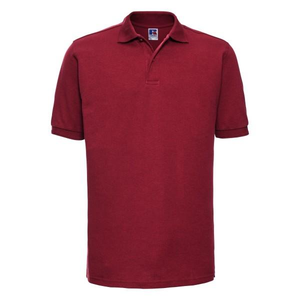 Slitstark Piké Plus Size - Klassisk Röd