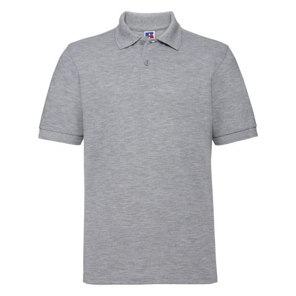 Slitstark Piké Plus Size - Oxfordgrå