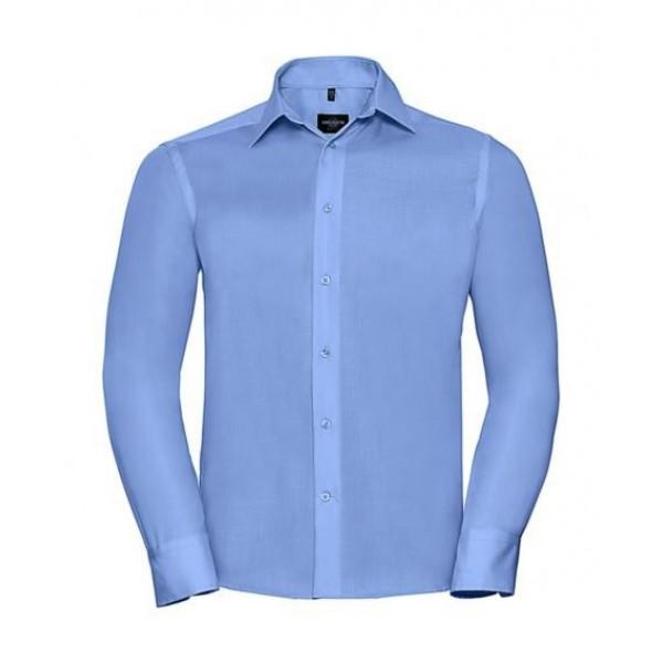 Strykfri Skjorta - Molnblå