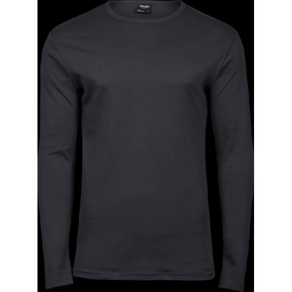 Elegant T-shirt Långärmad Herr