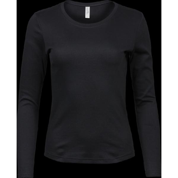 Elegant Långärmad T-shirt Dam