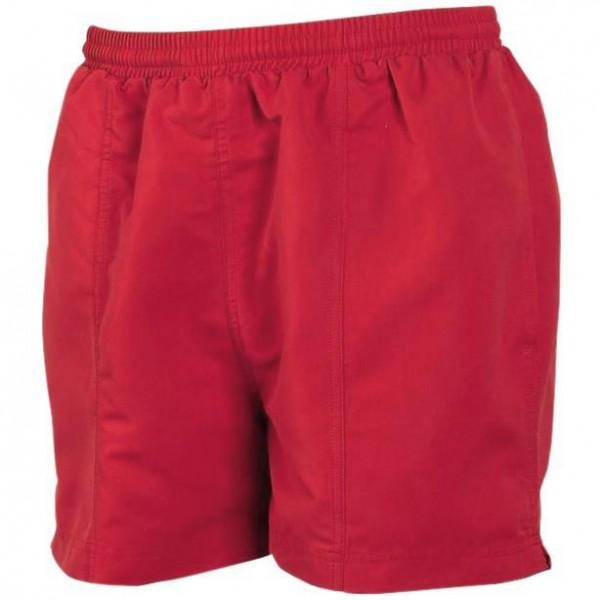 Fodrade Shorts - Röd