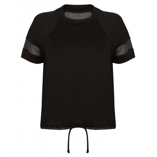 T-shirt Överdrag Dam - Svart