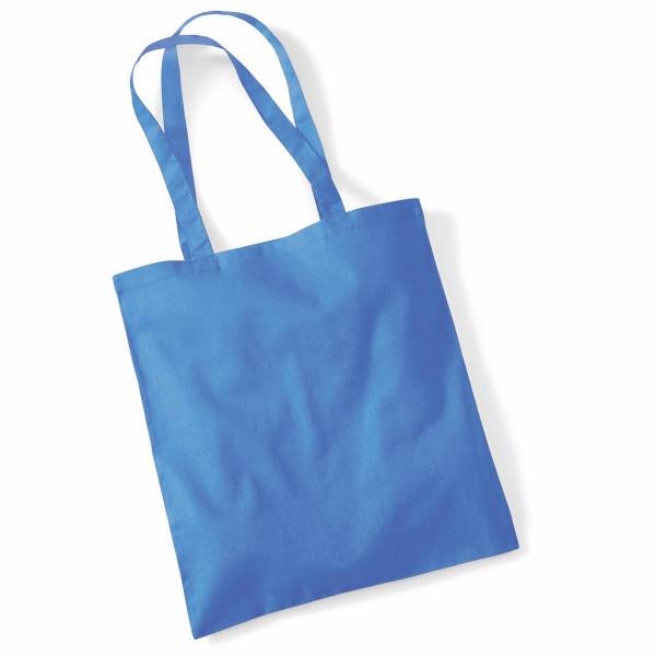 Tygkasse Långa Handtag - Blåklintsblå