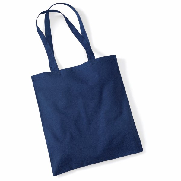 Tygkasse Långa Handtag - Fransk Marinblå