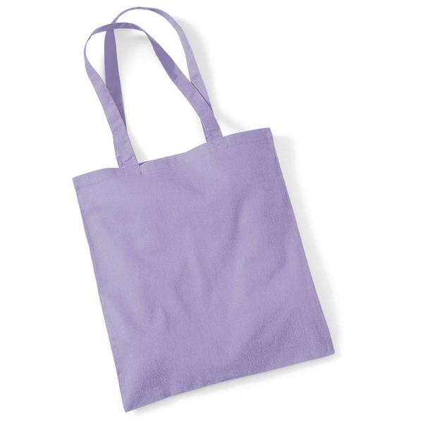 Tygkasse Långa Handtag - Lavendel